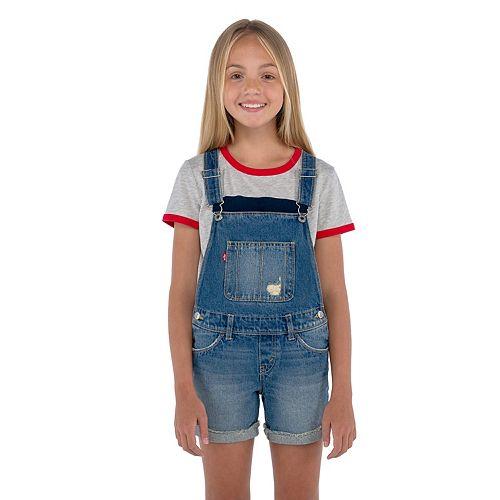 Girls 7-16 Levi's® Denim Shortalls