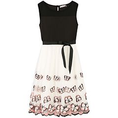 Girls 7-16 & Plus Size Speechless Butterfly Embroidered Dress