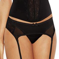 Maidenform Extra Sexy Floral Lace Garter Belt