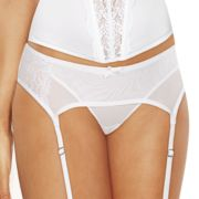 Maidenform Extra Sexy Floral Lace Garter Belt