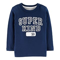 Baby Boy Carter's 'Super Kind' Double Knit Tee