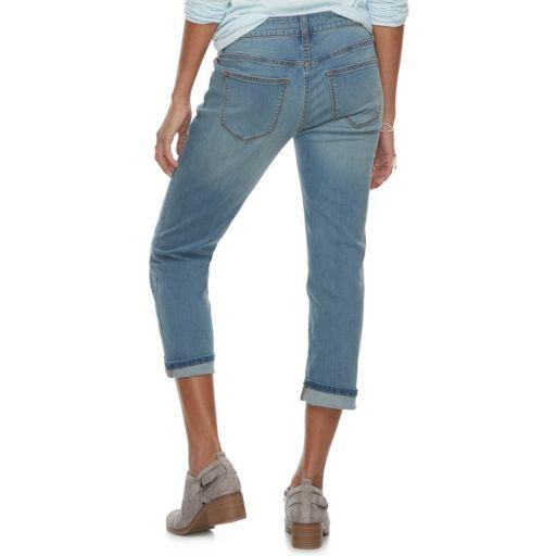 Women's SONOMA Goods for Life™ Cuffed Capri Jeans