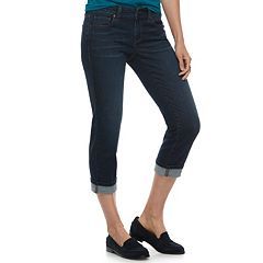 Women's SONOMA Goods for Life™ Cuffed Capri Jeans