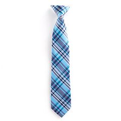 Boys 4-20 Chaps Baby Plaid Tie