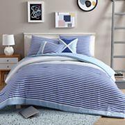 VCNY Collegiate Stripe Comforter Set