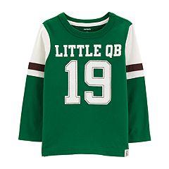 Baby Boy Carter's 'Little QB' Football Graphic Tee