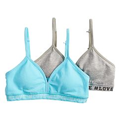 Girls 7-16 SO® 2-pk. Seamless Bralettes