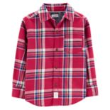 Baby Boy Carter's Plaid Flannel Button Down Shirt