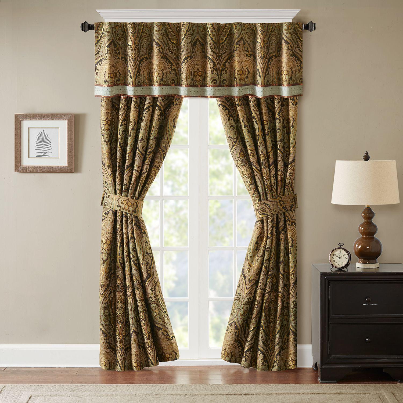 hampton hill bedroom curtains drapes window treatments home rh kohls com