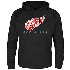 Men's Majestic Detroit Red Wings Armor Hoodie