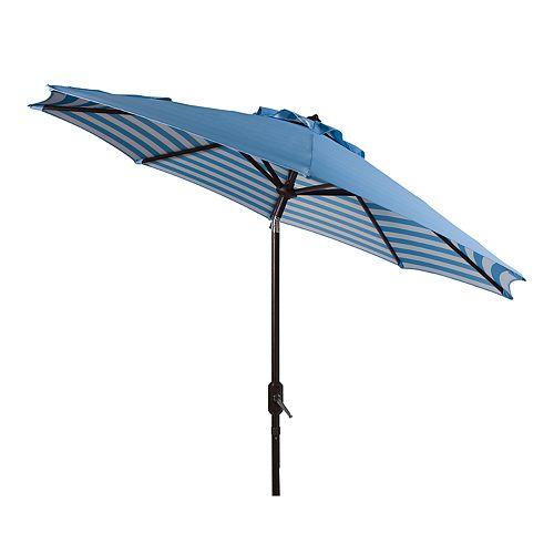 Safavieh 9-ft. Striped Outdoor Patio Umbrella