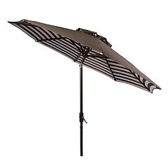 Safavieh 9-ft. Striped Outdoor Patio Umbrella