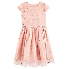 Girls 4-8 Carter's Star Tulle Dress