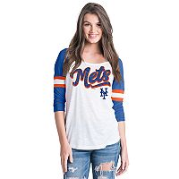 Women's New York Mets Raglan Tee