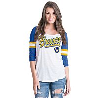 Women's Milwaukee Brewers Raglan Tee