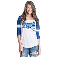 Women's Kansas City Royals Raglan Tee
