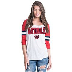 Women's Washington Nationals Raglan Tee