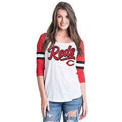 Women's Cincinnati Reds Raglan Tee