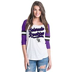 Women's Colorado Rockies Raglan Tee