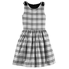 Girls 4-8 Carter's Plaid Bow Dress