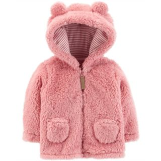 Baby Girl Carter's Sherpa Jacket