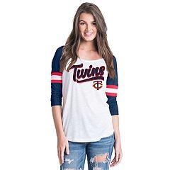 Women's Minnesota Twins Raglan Tee
