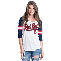 Women's Boston Red Sox Raglan Tee