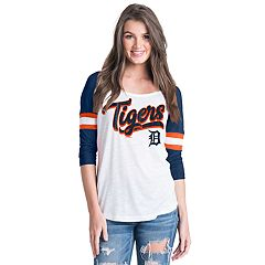 Women's Detroit Tigers Raglan Tee