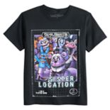 Boys 8-20 Five Nights At Freddy's Sister Location Tee