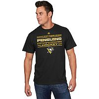Men's Majestic Pittsburgh Penguins Fore-Check Tee