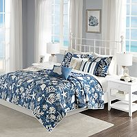 Madison Park Chatham 6 pc Cotton Sateen Coverlet Set
