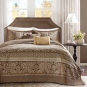 Madison Park Venetian 5-piece Jacquard Bedspread Set