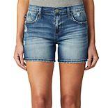 Women's Rock & Republic® Kimber Side Slit Jean Shorts