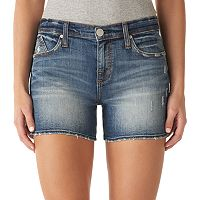 Women's Rock & Republic® Kimber Fringe Jean Shorts