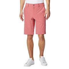 Men's CoolKeep Classic-Fit Stretch Performance Flat-Front Shorts