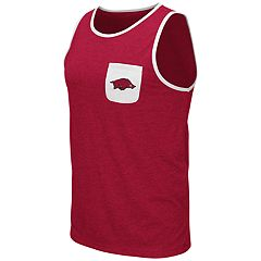 Men's Colosseum Arkansas Razorbacks Tank Top