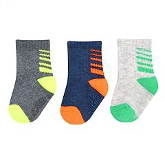 Baby / Toddler Boy Carter's 3-pack Striped Crew Socks