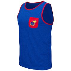 Men's Colosseum Kansas Jayhawks Tank Top