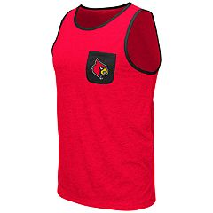 Men's Colosseum Louisville Cardinals Tank Top