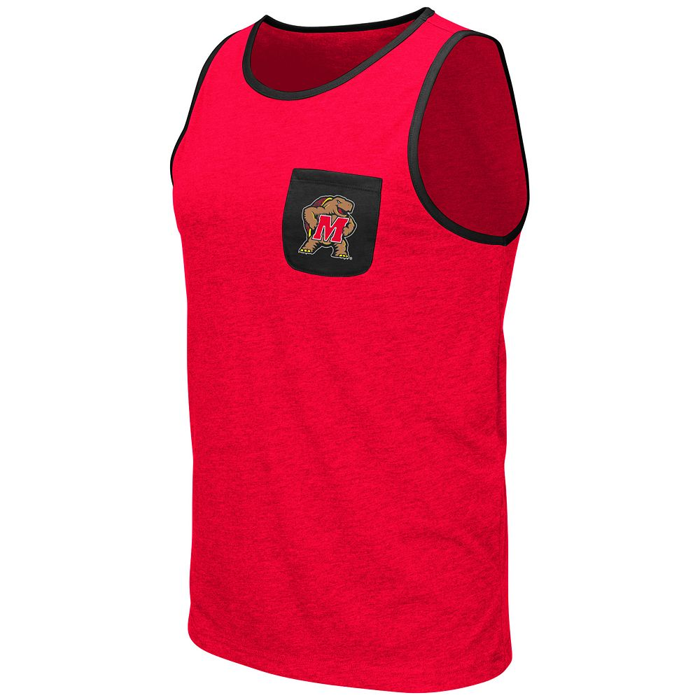 Men's Colosseum Maryland Terrapins Tank Top