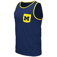 Men's Colosseum Michigan Wolverines Tank Top