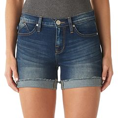 Women's Rock & Republic® Bumpershoot Cuffed Jean Shorts