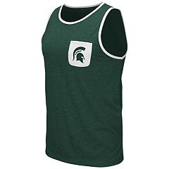 Men's Colosseum Michigan State Spartans Tank Top