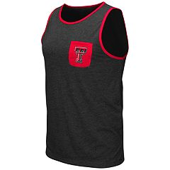 Men's Colosseum Texas Tech Red Raiders Tank Top