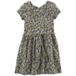 Girls 4-12 Carter's Animal Print Dress