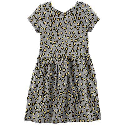 Girls 4-12 Carter's Animal Print Dress