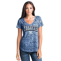 Women's New York Yankees Burnout Tee