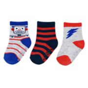 Baby / Toddler Boy Carter's 3-pack Robot Crew Socks