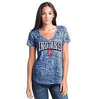 Women's Cleveland Indians Burnout Tee