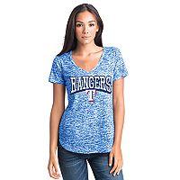 Women's Texas Rangers Burnout Tee